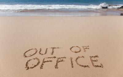 Bereikbaarheid tijdens je vakantie